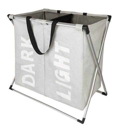 Laundry Basket Double X with Dividers