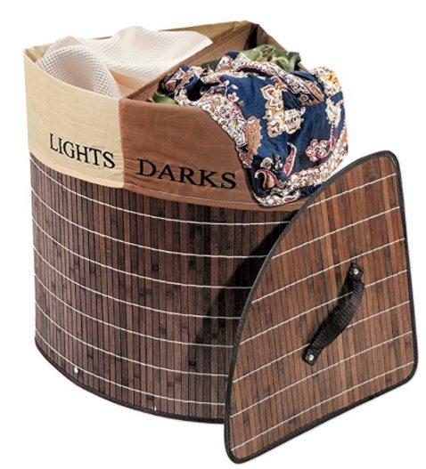 corner hamper with dividers 2