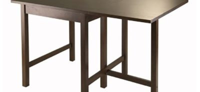 winsome drop dining room table