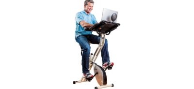 best exercise bike desk