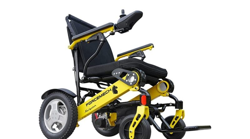 folding electric all terrain wheelchair