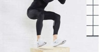 plyometric exercise box